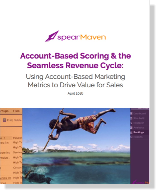 spearMaven White Paper_Account-Based Scoring